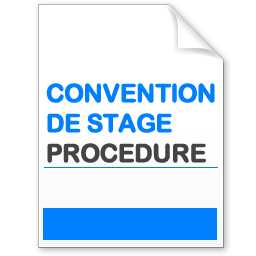 Télécharger la procédure de la convention de stage