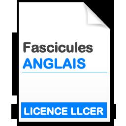Fascicule Licence LLCER Anglais
