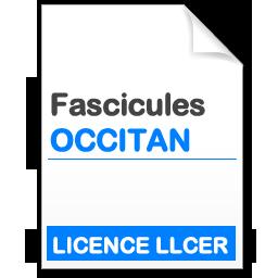 Fascicule Licence LLCER Occitan