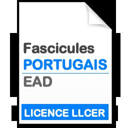 fascicule LICENCE LLCER PORTUGAIS – EAD