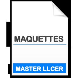 Maquettes Master Langues, Littératures et Civilisations Etrangères et Régionales (LLCER)