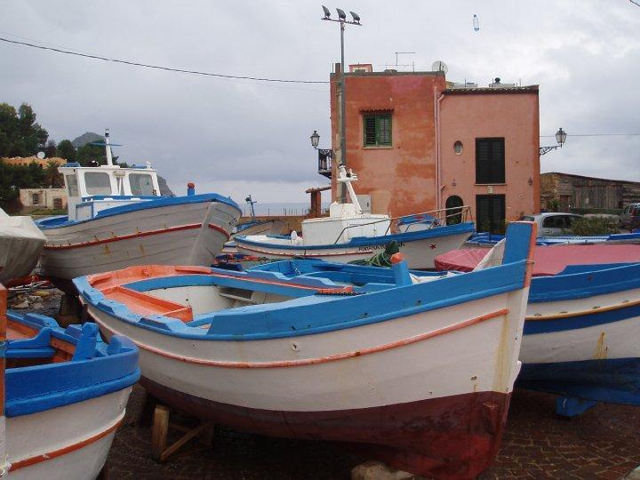 Les barques de Santa Flavia