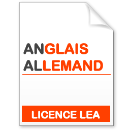 maquette formation licence lea anglais-allemand