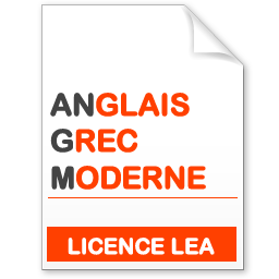 maquette formation licence lea anglais-grec moderne