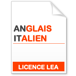 maquette formation licence lea anglais-italien