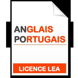 maquette formation licence lea anglais-portugais
