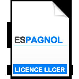 maquette formation licence Littératures et Civilisations Etrangères et Régionales (LLCER) - espagnol
