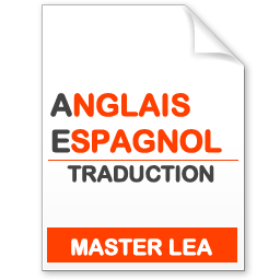 maquette formation master traduction anglais-espagnol