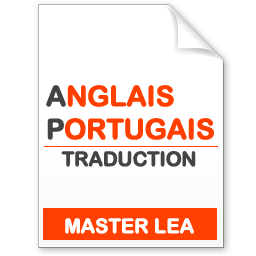 maquette formation master traduction anglais-portugais