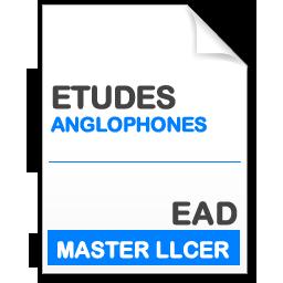 maquette formation master llcer études anglophones en enseignement à distance EAD