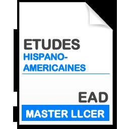 maquette formation master llcer études hispanophones en enseignement à distance EAD
