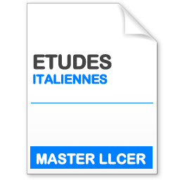 maquette formation master llcer études italiennes