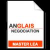 maquette formation master Négociation de projets internationaux anglais