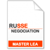 maquette formation master Négociation de projets internationaux russe