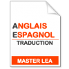 maquette formation master traduction anglais-espagnol