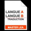 maquette formation master traduction langue A - langue B