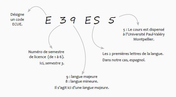schema code ecue 39