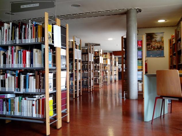 Bibliothèque hispanique - Bât. Renouvier 1er étage