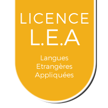 Licence Langues Étrangères Appliquées (L.E.A)