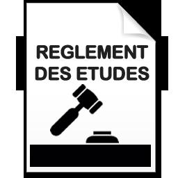 Règlement des études